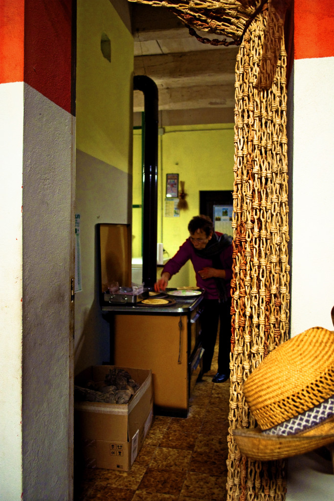 Maria cuoce la piadina, Lom a Merz 2014