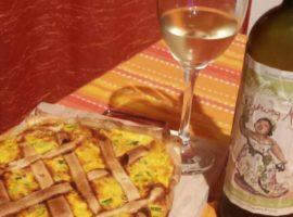 come abbinare la Malvasia: rotolo zucchine e prosciutto cotto